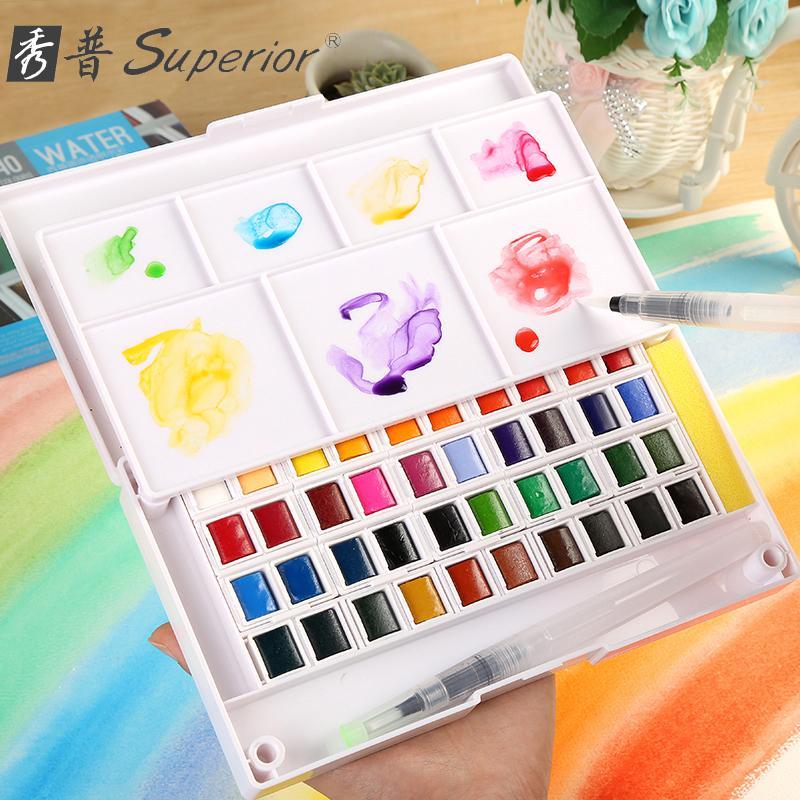 Mua Màu nước SUPERIOR - 24 màu