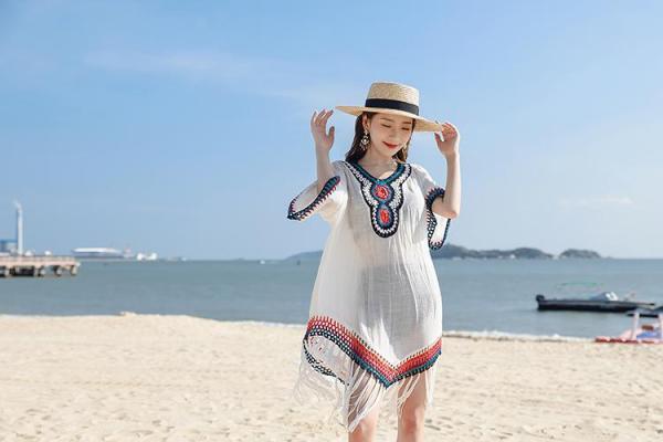 Áo lưới đi biển đi chơi thời trang
