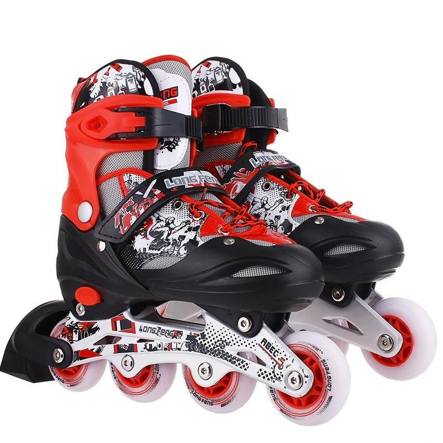 Giày trượt patin 906 có đèn - bao giá thị trường ĐỒ TẬP TỐT