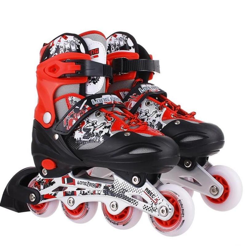 Phân phối Giày trượt patin 906 có đèn - bao giá thị trường ĐỒ TẬP TỐT