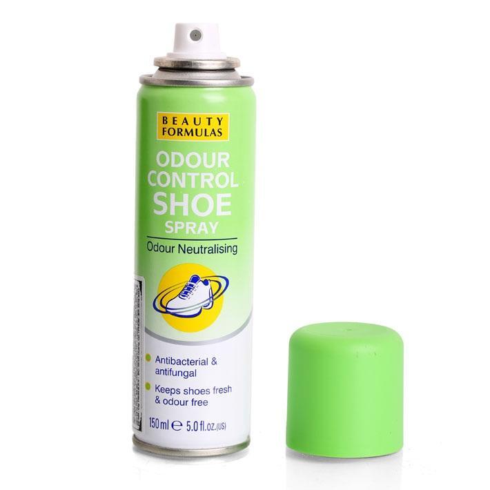Xịt khử mùi giày Beauty Formulas - 150ml