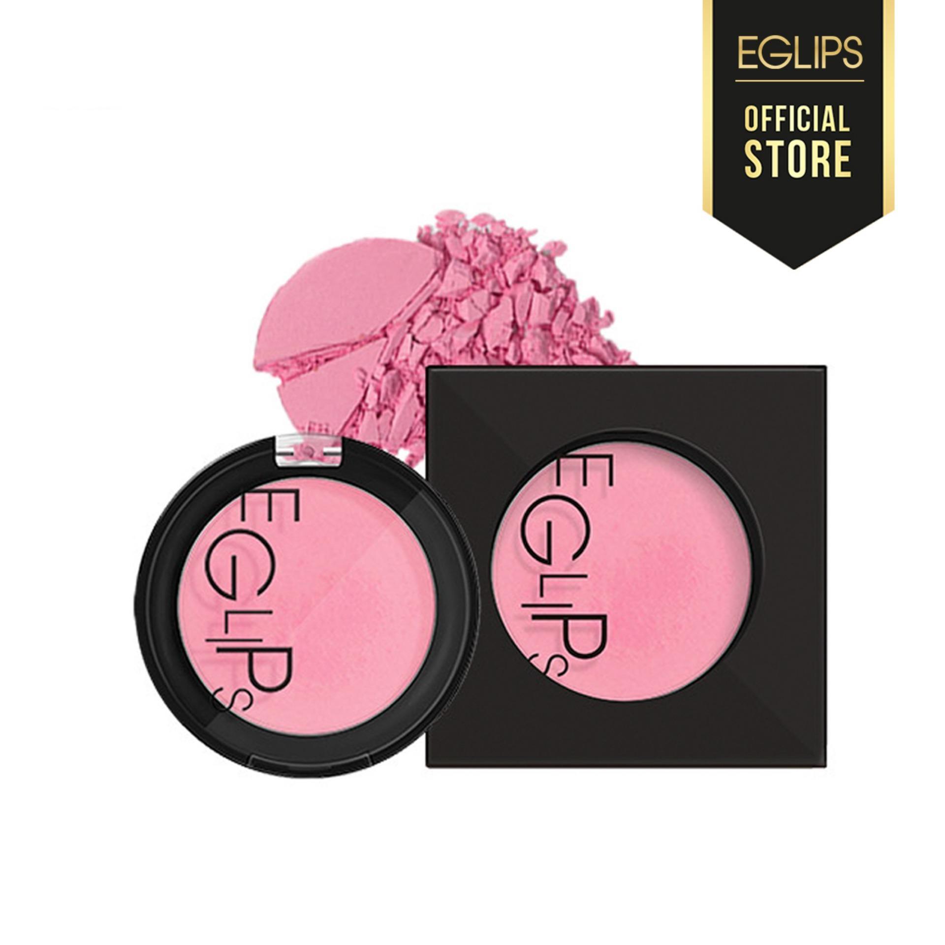 Phấn má Eglips Apple Fit Blusher - 01 Pure Pink (Màu hồng tím nhạt) tốt nhất