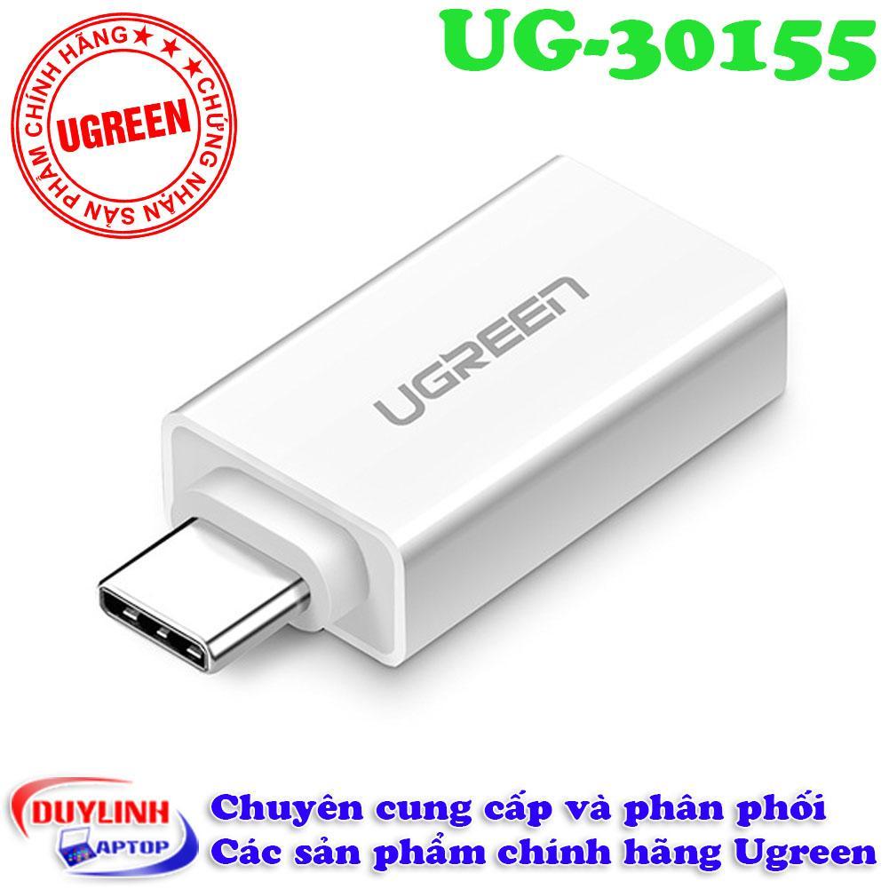 Hình ảnh Cổng chuyển USB Type C to USB 3.0 của hãng Ugreen
