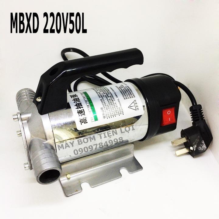 Máy bơm xăng dầu 220V 50L INOX
