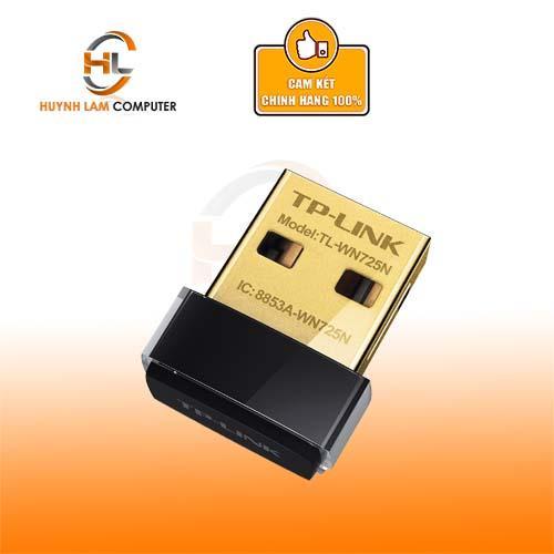 Giá USB WiFi - USB thu Sóng WiFi TPLink TL-WN 725N FPT Phân Phối