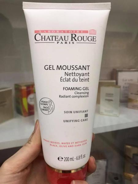 Sữa tắm kích trắng da Chateau Rouge 200ml nhập khẩu