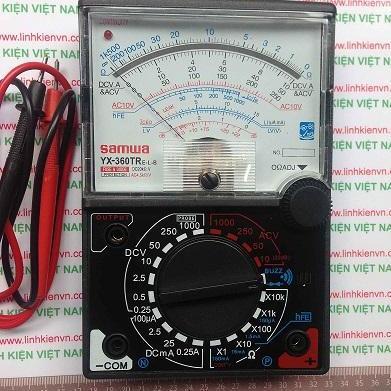 Đồng hồ đo vạn năng cho thợ sửa chữa điện thoại YX-360TR ( có loa thông mạch)