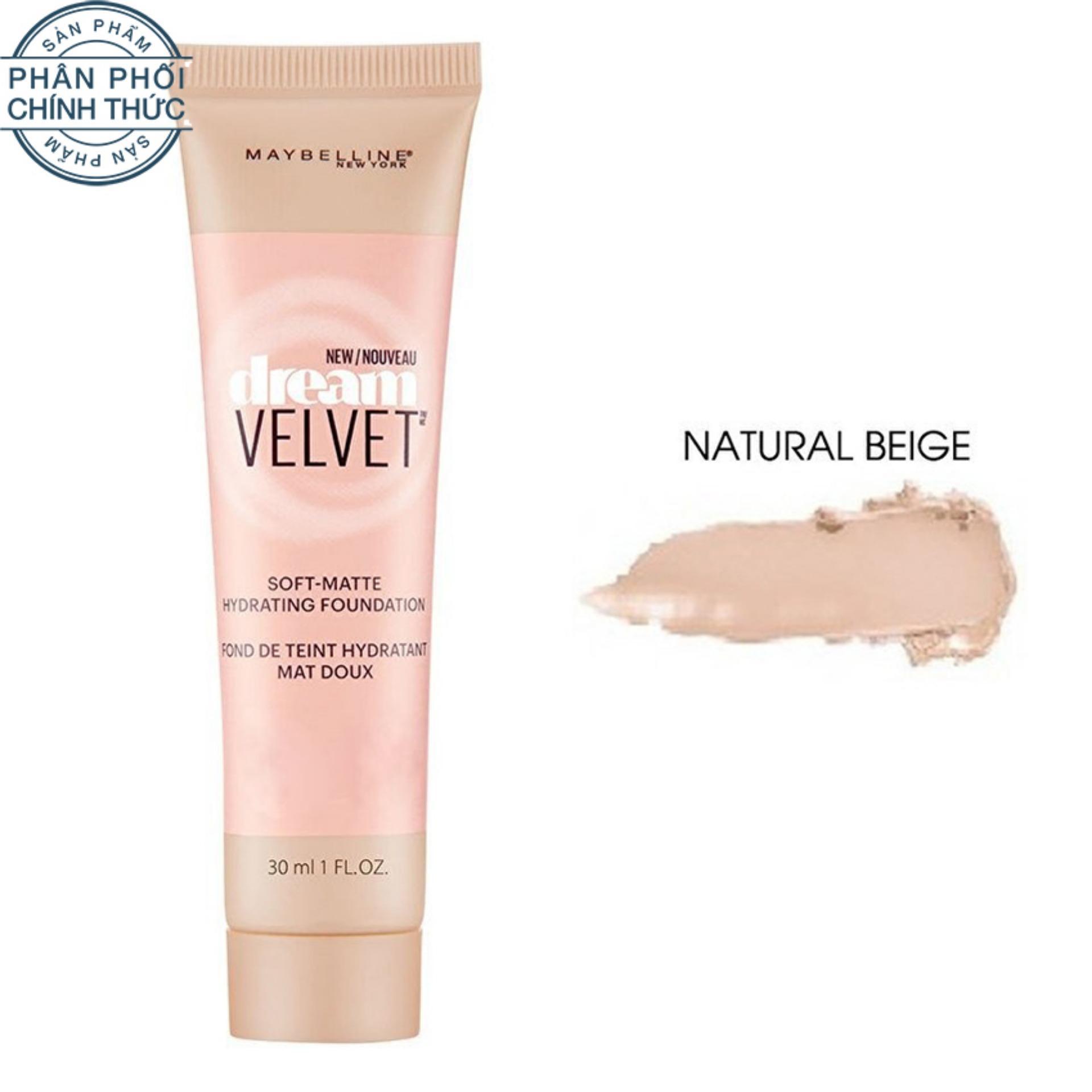 Kem Nền Dạng Gel Maybelline Dream Velvet Natural Beige 30Ml Mới Nhất