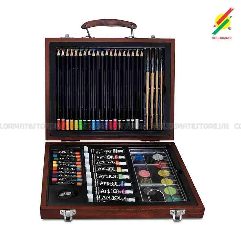 Coupon Giảm Giá Bộ Màu Vẽ đa Năng Colormate M58 MS-58W D028