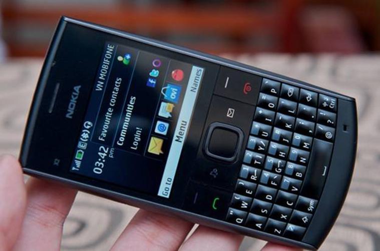 Điện Thoại Nokia X2 01 Zin Đen Ban Phim 24 Số Mới Nhất