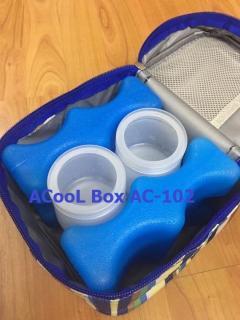 Combo 2 thanh đá khô võng 4 ngăn giữ lạnh, bảo quản sữa mẹ Acool thumbnail