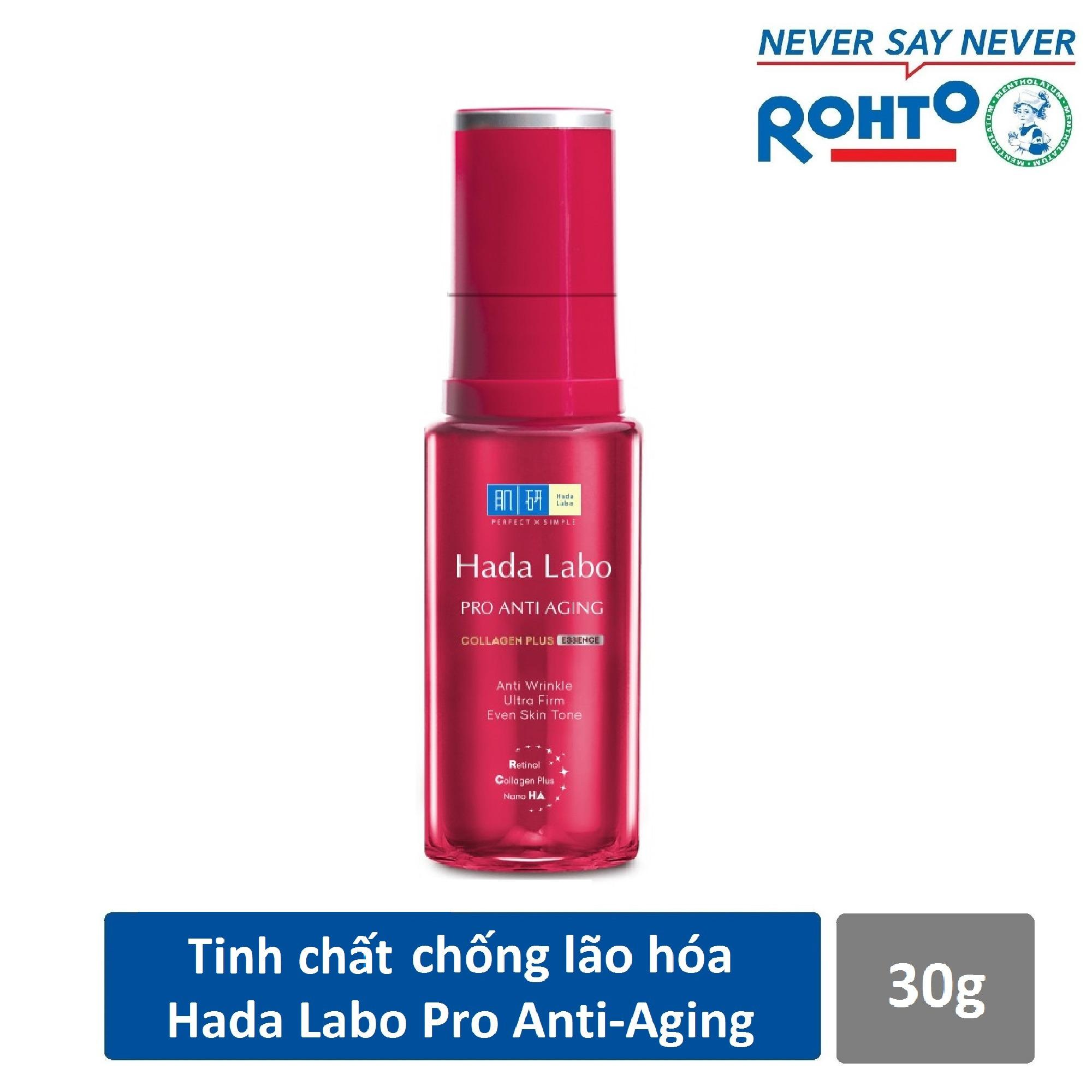 Tinh chất dưỡng chuyên biệt chống lão hóa Hada Labo Pro Anti Aging Essence 30g