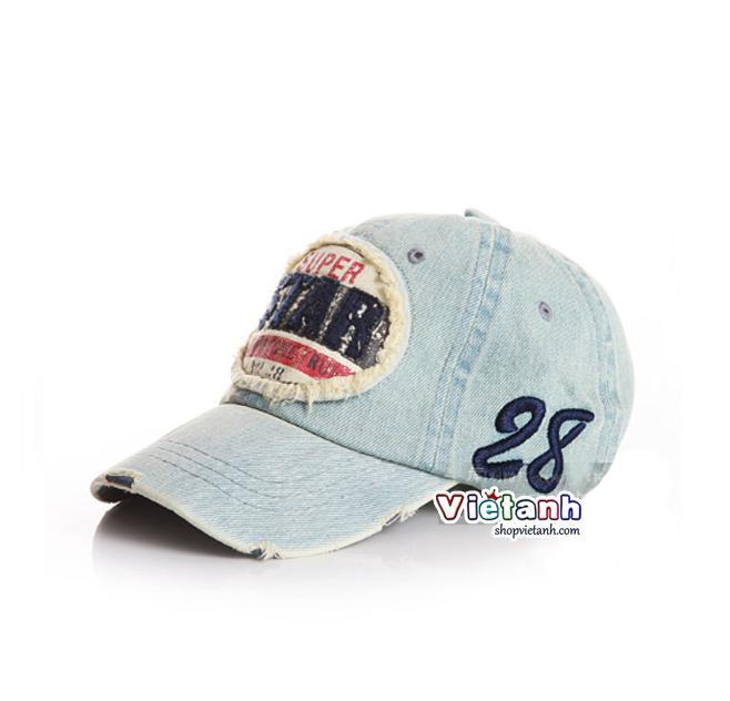 Mũ nón hè lưỡi trai STAR trẻ em chất bò sành điệu MH46