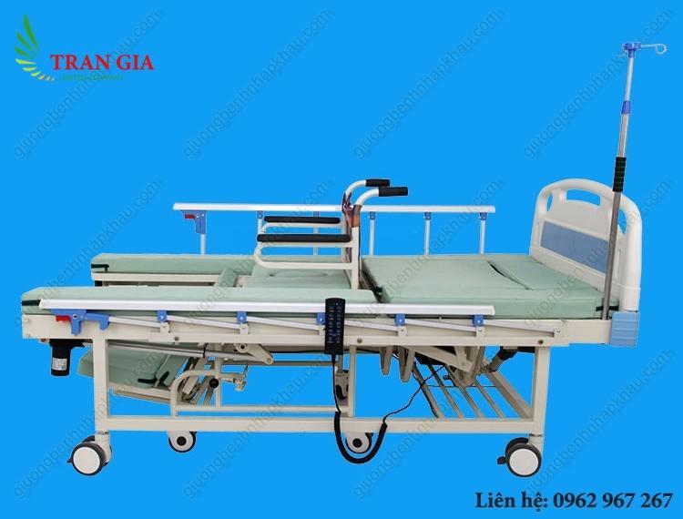 Hình ảnh Giường bệnh kết hợp xe lăn điều khiển bằng điện