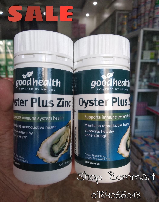 Tinh chất hàu úc oyster plus tăng cho sinh lý phái mạnh 60 viên