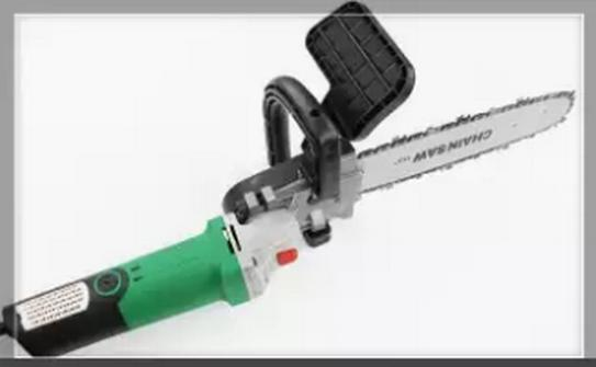 Hình ảnh Bộ chuyển đổi máy mài góc thành máy cưa xích (Chain Saw 11.5