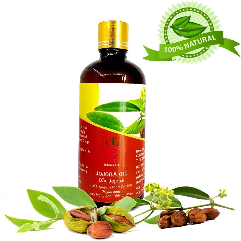 Dầu jojoba ( jojoba oil ) 100ml  ấn độ tốt nhất