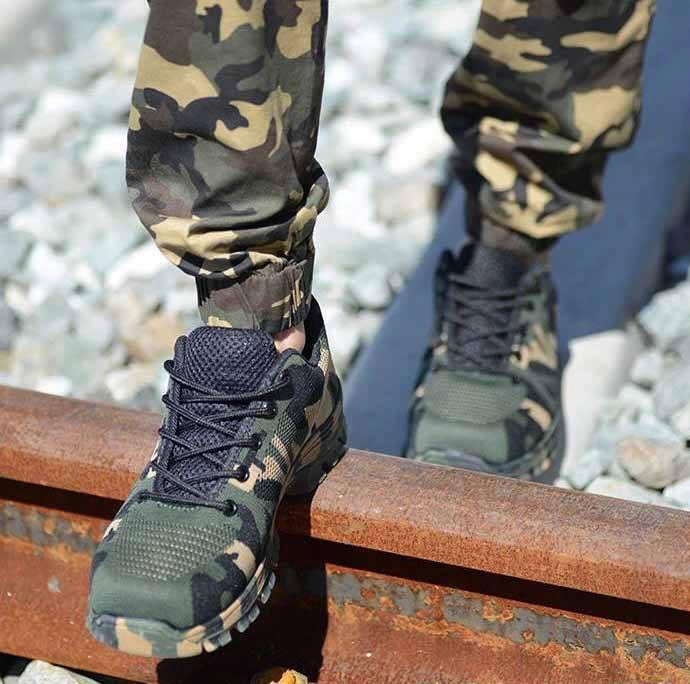 Hình ảnh Giày Bảo Hộ Thời Trang King's Man Army size 41
