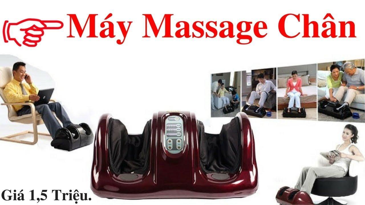 Hình ảnh Máy mát xa xoa bóp lòng bàn chân foot massage công nghệ nhật bản