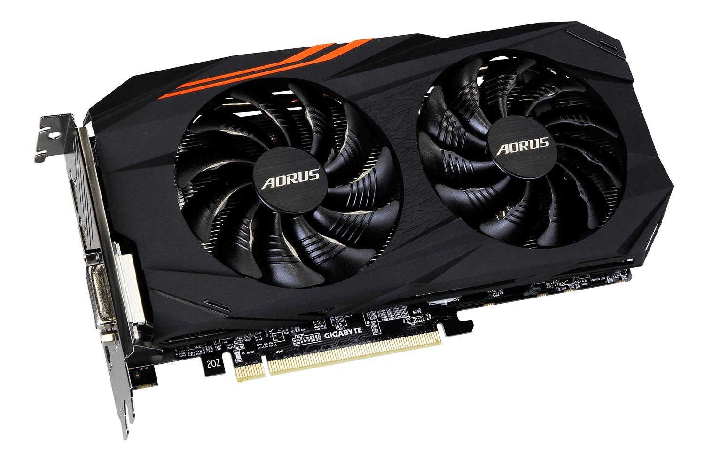 Hình ảnh CARD GIGABYTE AORUS Radeon RX580 8GB