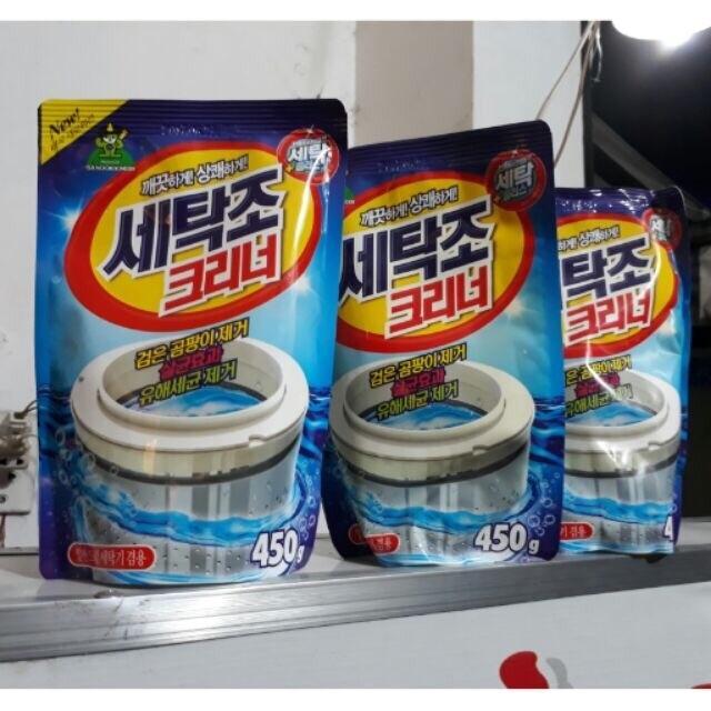 Túi tẩy lồng máy giặt Hàn Quốc 450g Nhật Bản