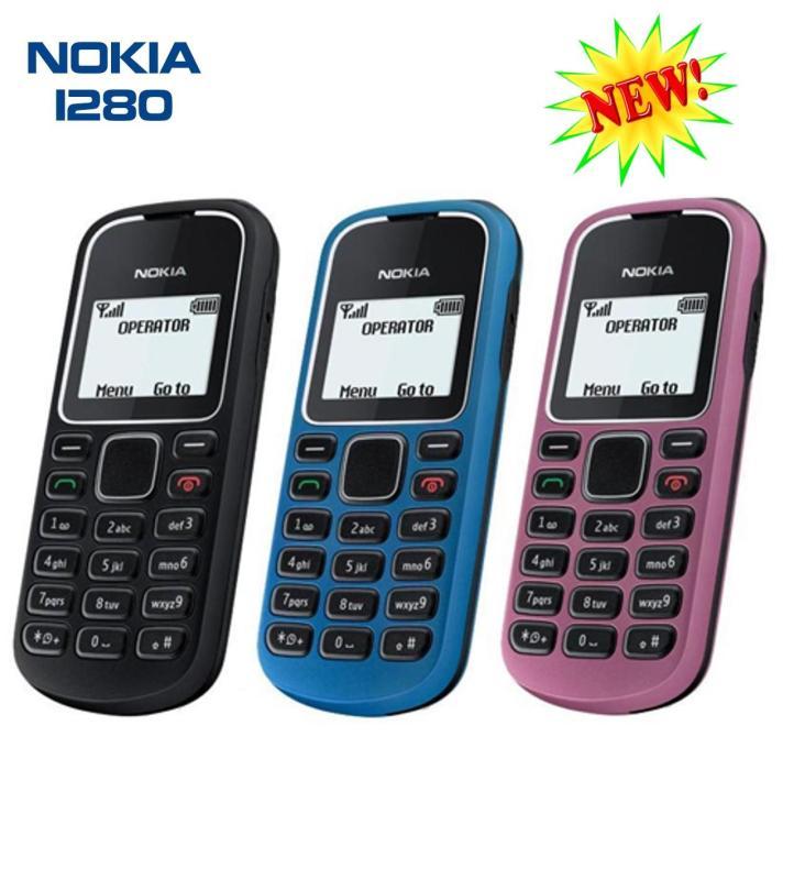 Điện thoại 1280 giá rẻ đầy đủ phụ kiện pin, sạc (Bảo Hành 1 Đổi 1)