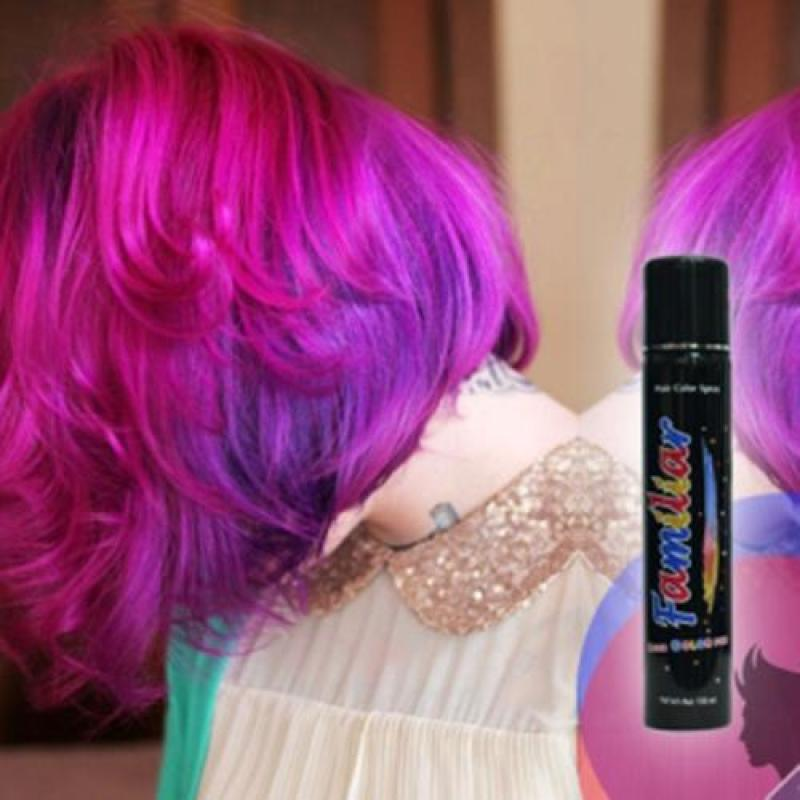 Keo xịt tóc màu Familiar 100ml cao cấp