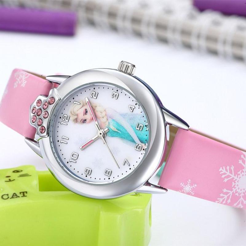 Đồng hồ trẻ em elsa W16-H màu hồng giá tốt bán chạy