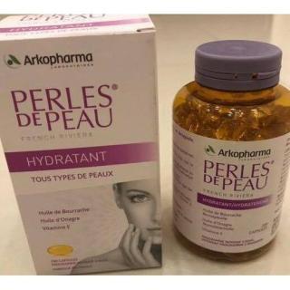 Collagen đe p da Perles de Peau Arkopharma thumbnail