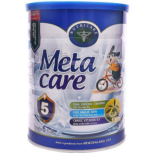 Sữa Metacare 5 Olive 900g (trẻ trên 6 tuổi)