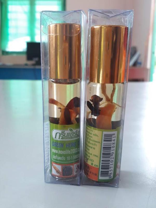 Combo 12 chai dầu gió lăn thảo dược nhân sâm Thái Lan tốt nhất