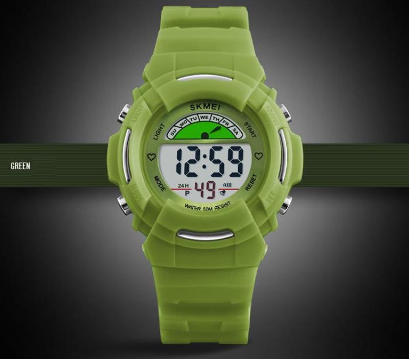 Đồng hồ thể thao trẻ em skmei 1272 (Green) bán chạy