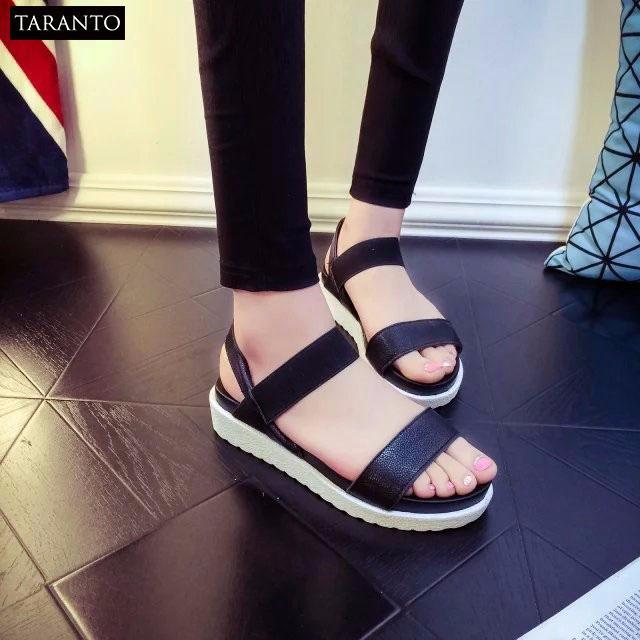 Sandal nữ phong cách Hàn Quốc TARANTO TRT-SDNU-02