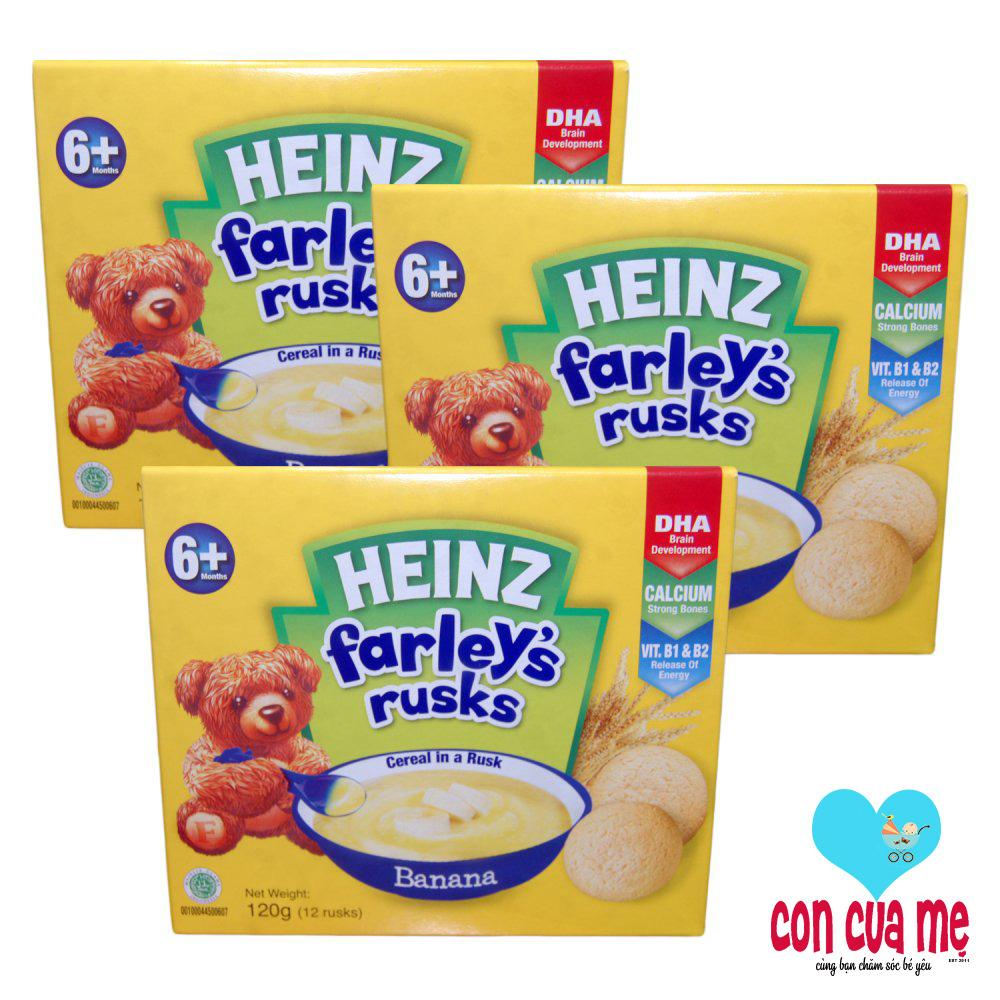 Bánh Qui Heinz Farley'S Vị Chuối 120Gr