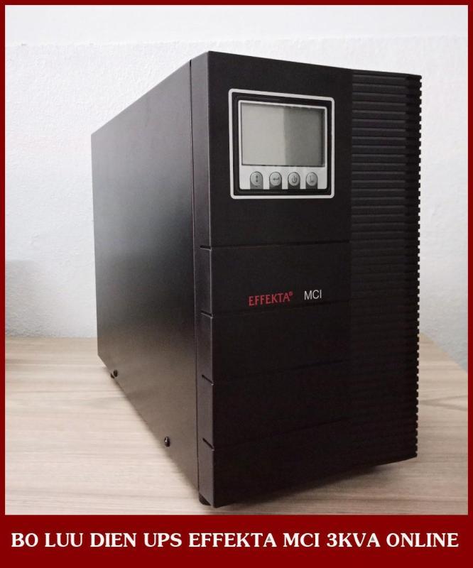 Bảng giá Bộ lưu điện UPS EFFEKTA MCI 3KVA Online (MCI3000) Phong Vũ