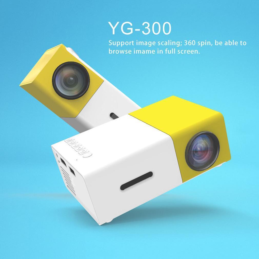Hình ảnh Máy Chiếu Mini YG300 LED, Màn hình LCD TFT HD 1080, Độ phân giải cao, Đa ngôn ngữ, Ban may chieu gia re, Bộ máy chiếu - SALE OFF 50%
