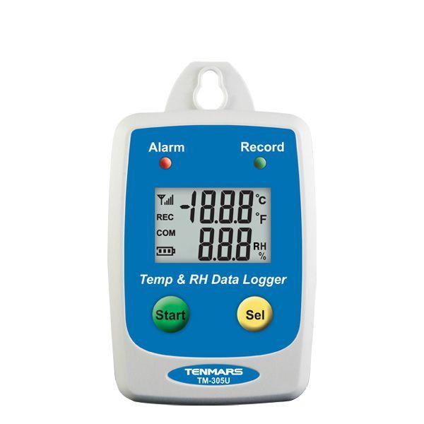 Nhiệt ẩm kế tự ghi dữ liệu Tenmars TM-305U