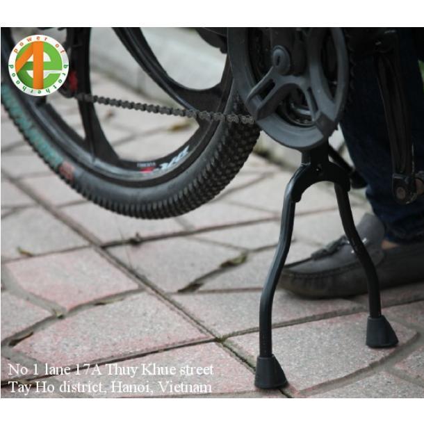 Chân chống giữa lắp gầm chữ A xe đạp thể thao hợp kim nhôm SJ-315