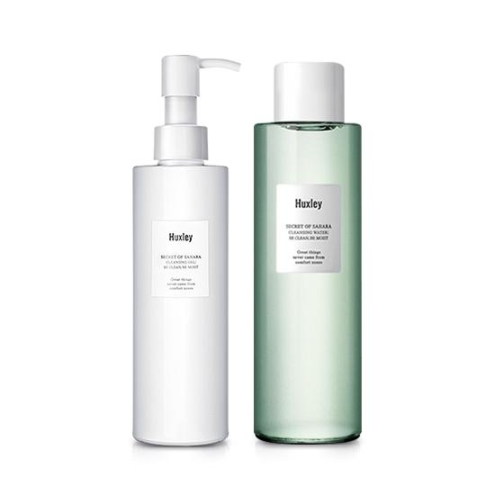 Set làm sạch da HUXLEY - Secret Of Sahara Cleansing Duo