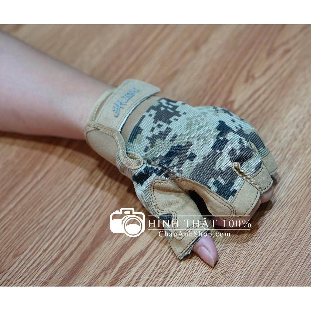 Găng tay kiểu thời trang lính ACU