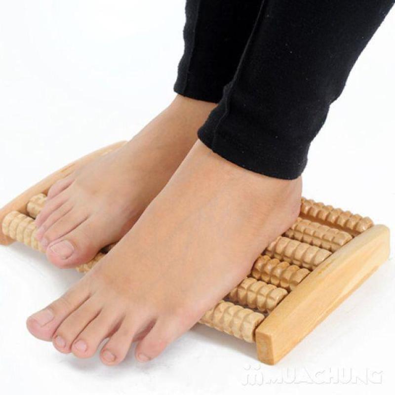 Dụng Cụ Massage Chân Bằng Gỗ 6 Hàng - Venn cao cấp