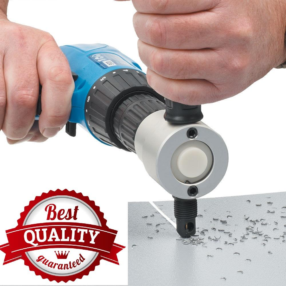 Hình ảnh Dụng cụ cắt tôn - Dụng cụ cắt tôn cầm tay - Dụng cắt tôn chuyên nghiệp gắn vào đầu máy khoan