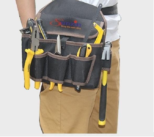 đai đeo hông kèm túi đựng đồ sửa chữa ,đồ điện,điện tử ,điện lạnh HÀNG ĐẸP a09