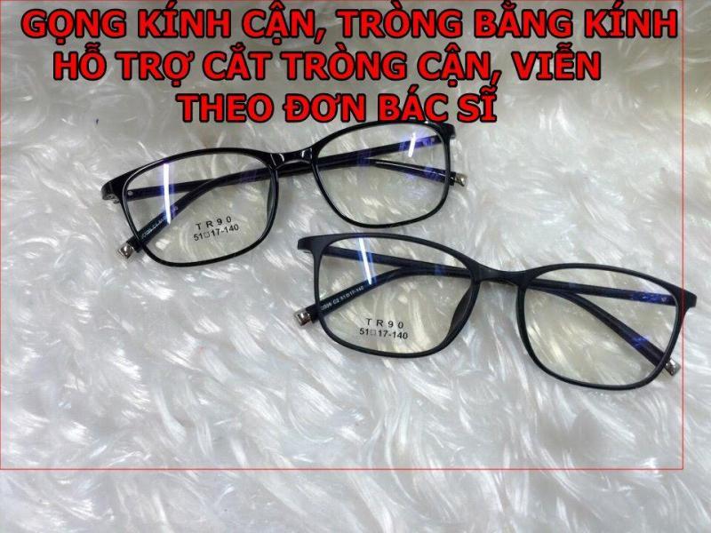 Giá bán Gọng kính cận TR90 ( Tròng bằng kính)  Tặng tròng kính cận