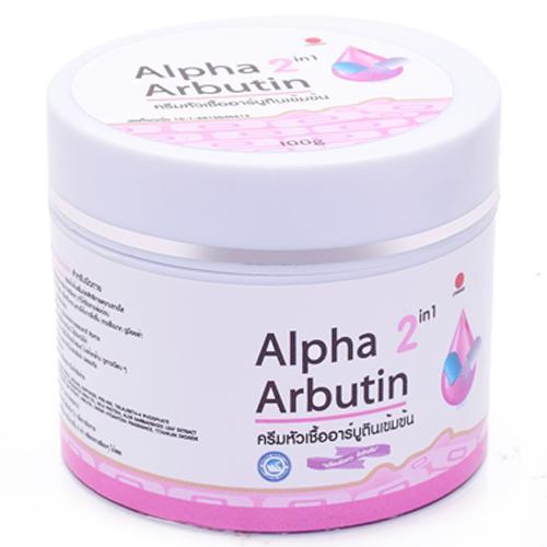Kem dưỡng trắng da toàn thân Alpha Arbutin 2 in 1 Thái lan 100g tốt nhất