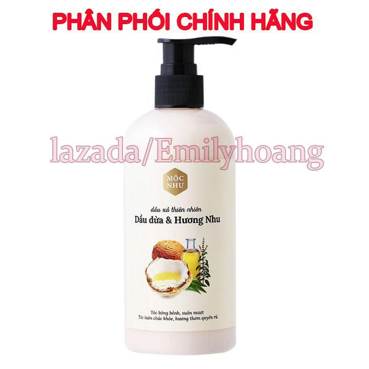 Dầu xả thiên nhiên Hương Dừa và Hương Nhu Mộc nhu - 300ml tốt nhất