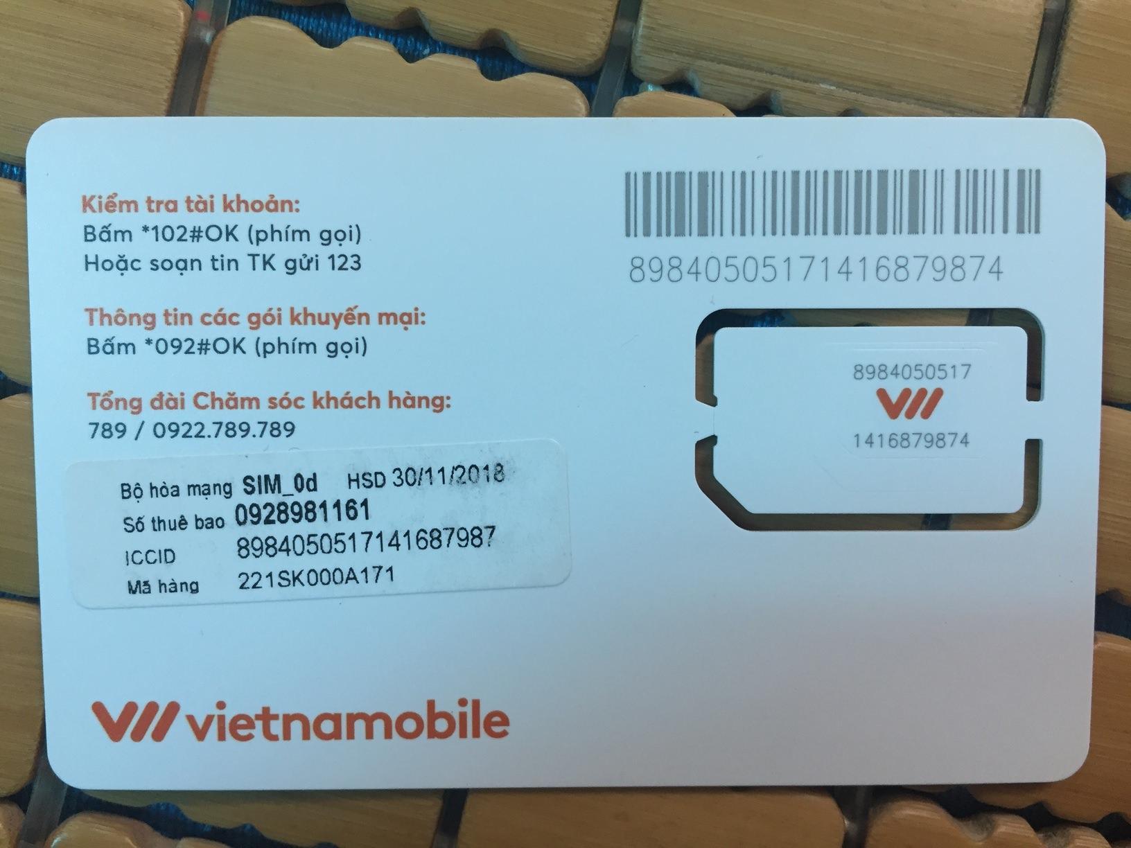 Giá Bán Sim Phong Thủy Sim Số Đẹp Sim Ngay Sinh Vietnammobile Tốt Nhất
