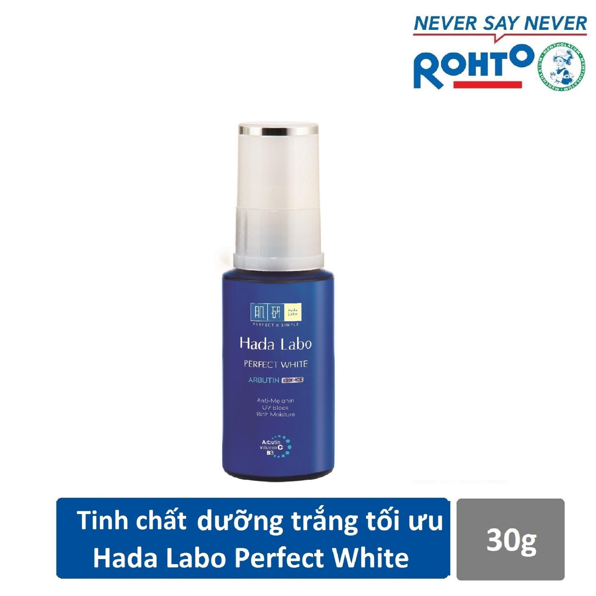 Tinh chất dưỡng trắng tối ưu Hada Labo Perfect White Essence 30g tốt nhất