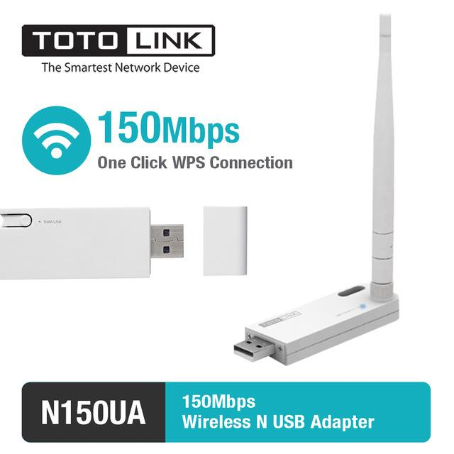 Giá USB Wi-Fi chuẩn N 150Mbps TOTOLINK N150UA