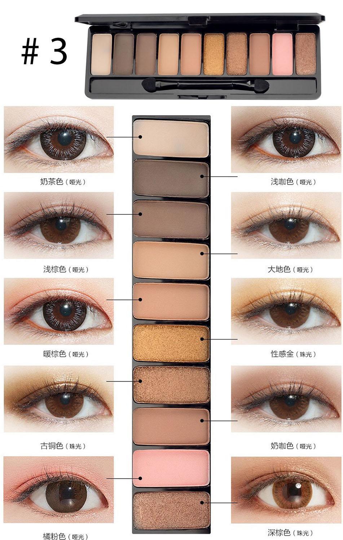 Bảng phấn mắt Play Color Eyes của Lameila hàng nội địa Trung - 1126